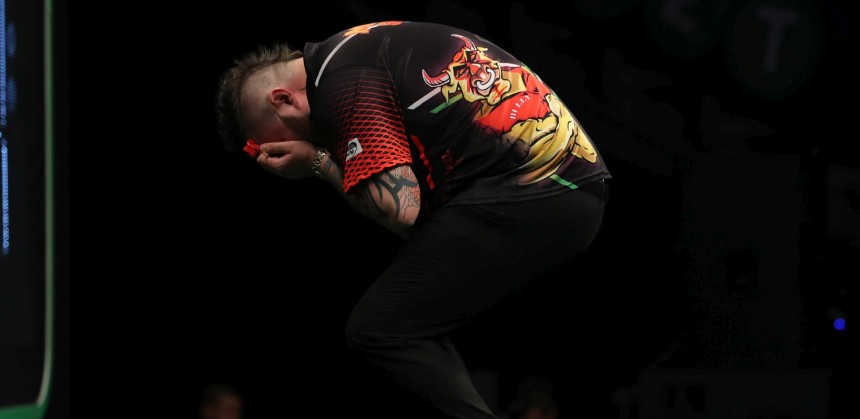Michael Smith erreicht sein erstes Major TV Finale - Premier League Darts 2018