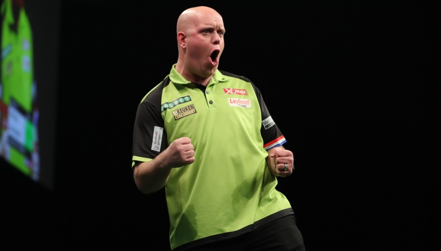 Premier League Darts 2018 - Manchester - Michael van Gerwen