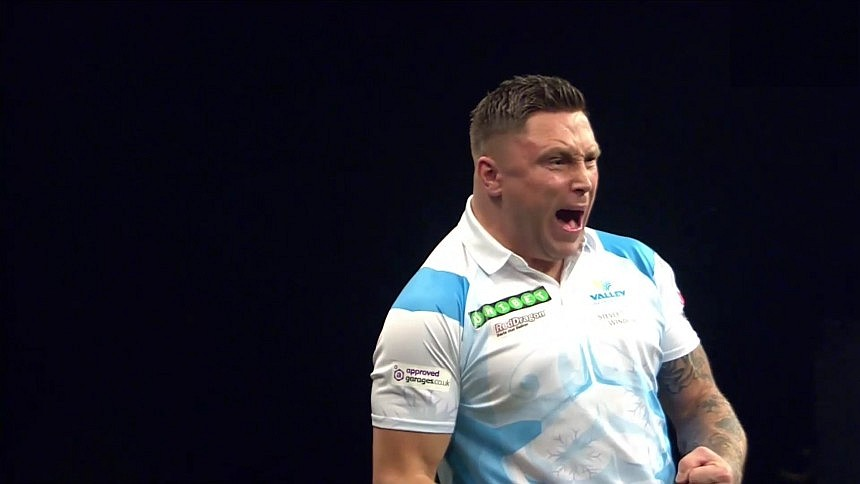 Gerwyn Price - Premier League Darts 2018 - Spieltag 1