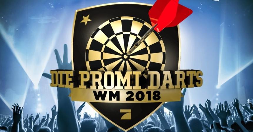 Promi Darts WM 2018 auf Pro7