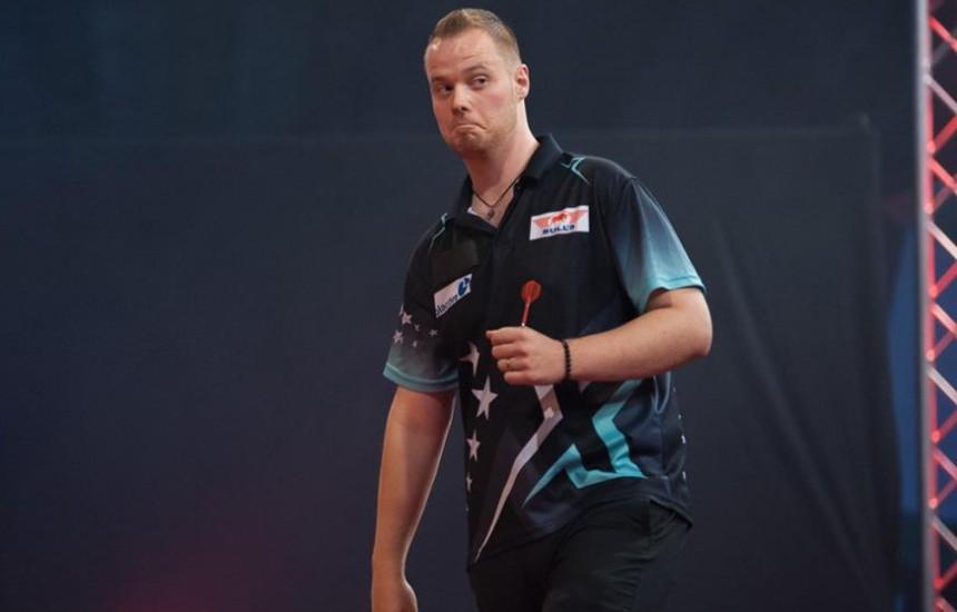 Max Hopp nach seinem Sieg