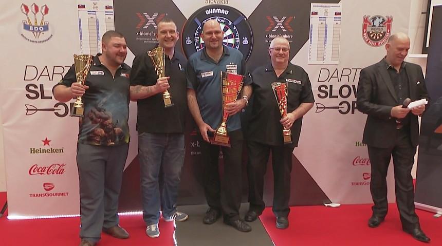 Die Gewinner des BDO SLovak Open 2018