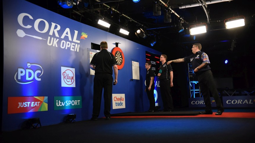 Gary Anderson bei den UK Open 2018