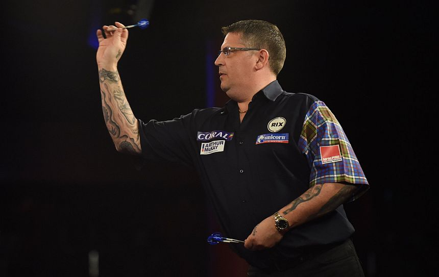 UK Open 2018 - Tag 3 - Mittag - Gary Anderson