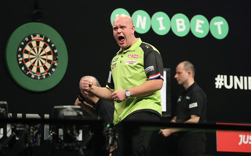 UK Open Qualifier 2018 - Turnier 1 - Michael van Gerwen