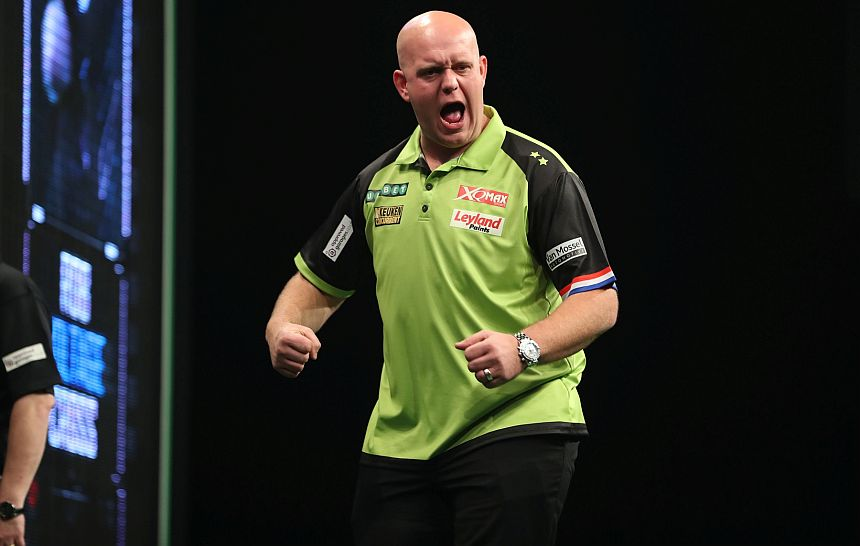 UK Open Qualifier 2018 - Turnier 2 - Michael van Gerwen