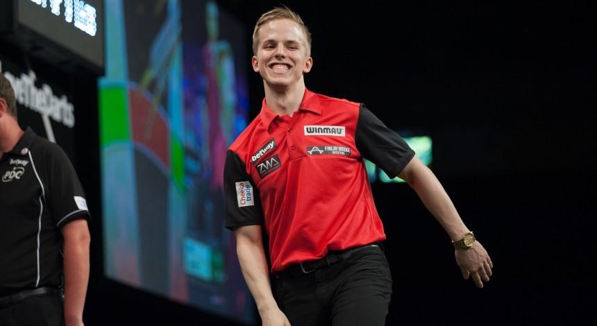 Dawson Murschell bei den US Darts Masters 2018
