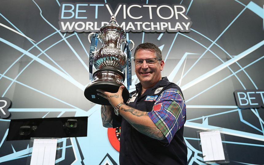 World Matchplay 2018 - Siegerbild - Gary Anderson