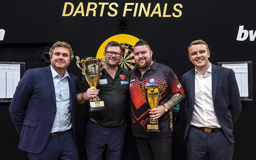 World Series of Darts Finals 2018 - Siegerehrung - James Wade & Michael Smith