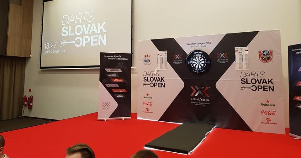 Die Bühne der Slovak Open 2018
