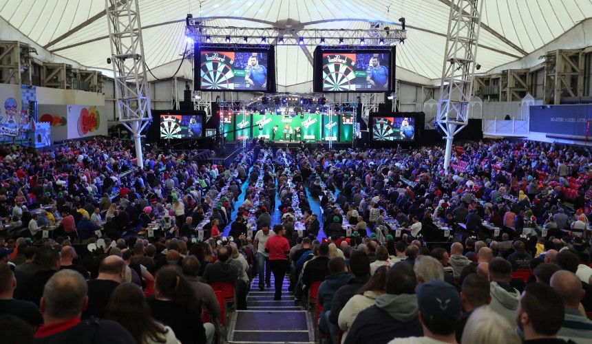PDC UK Open 2020 Butlins Minehead