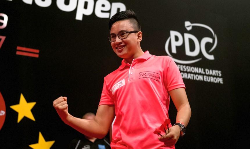 Rusty_James Rodriguez wieder für die Austrian Darts Championship qualifiziert