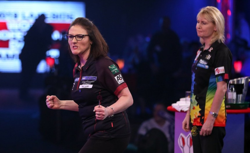 Lorraine Winstanley - BDO Dart WM 2019 - Viertelfinale