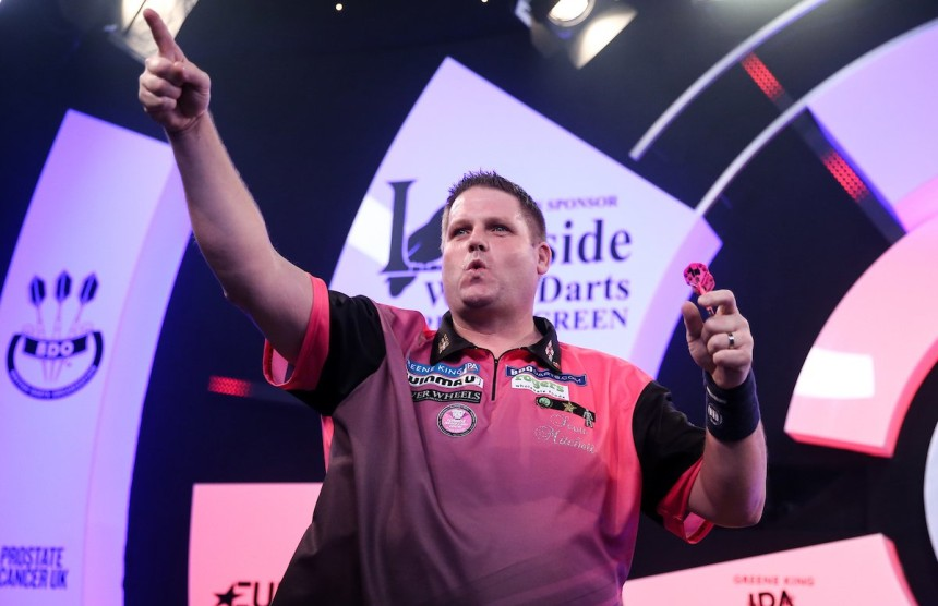 Scott Mitchell - BDO WM 2019 - Achtelfinale