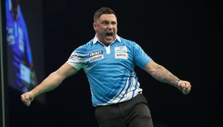 Gerwyn Price steht im Halbfinale der Champions League of Darts 2019