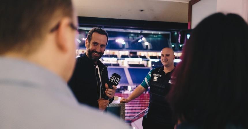 Dartn.de meets DAZN - Behind the scenes