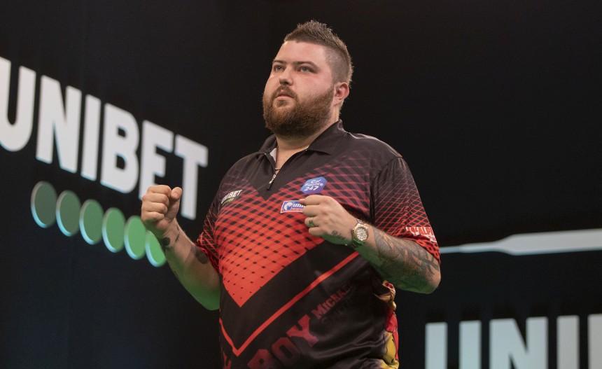 Michael Smith erreicht das Halbfinale in Göttngen 2019