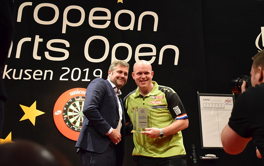 European Darts Open 2019 - Sieger - Michael van Gerwen