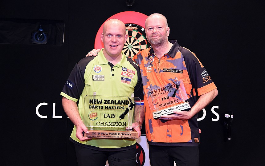 Michael van Gerwen - Sieger New Zealand Darts Masters 2019