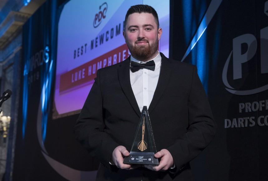 Luke Humpries - PDC Annua Awards Dinner 2019