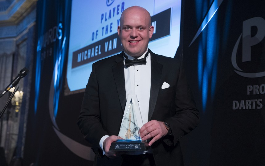 Michael van Gerwen - PDC Annual Awards Dinner 2019