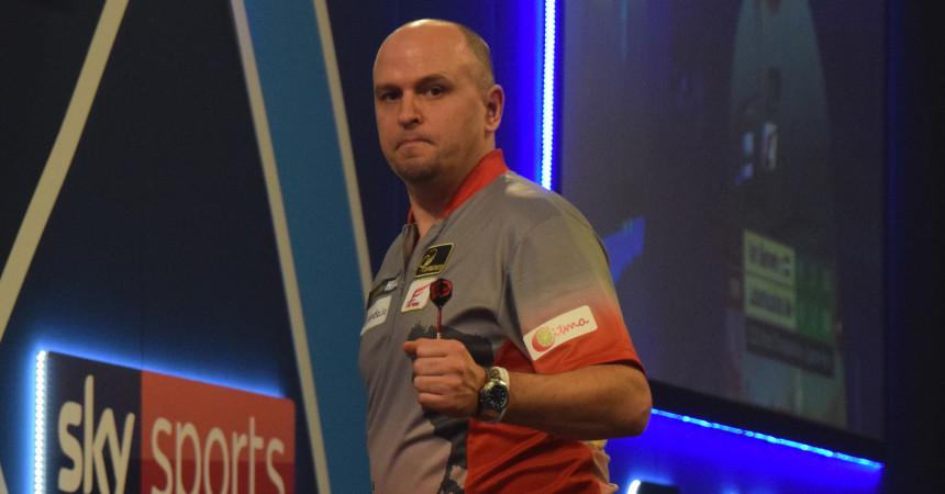 Darius Labanauskas bei der PDC Dart WM 2020 in London