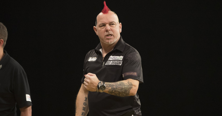 Peter Wright bei den Masters 2019
