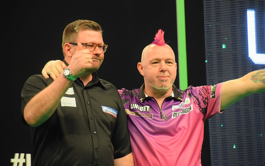 Premier League 2019 - Berlin - James Wade & Peter Wright