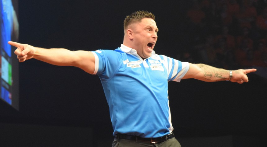 Gerwyn Price drehte in der Judgement Night Rotterdam 2019 auf