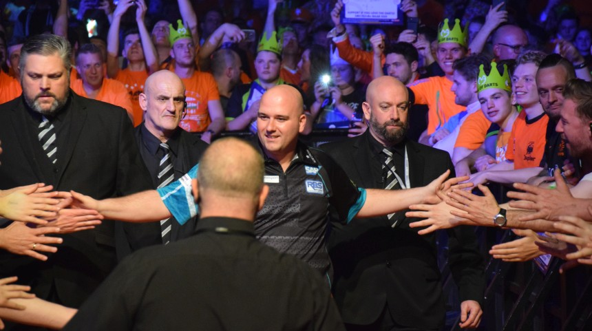 Rob Cross Walkon Judgement Night Premier League Rotterdam 2019