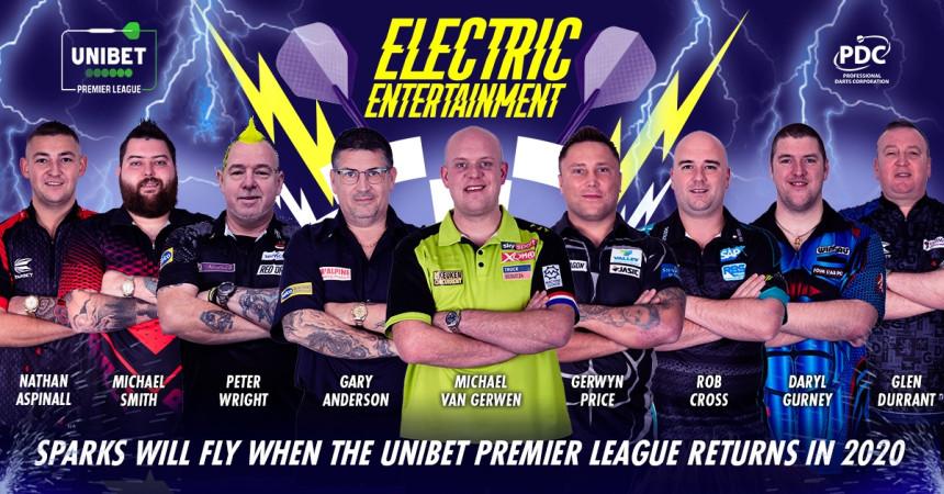 Premier League Darts Teilnehmer 2020