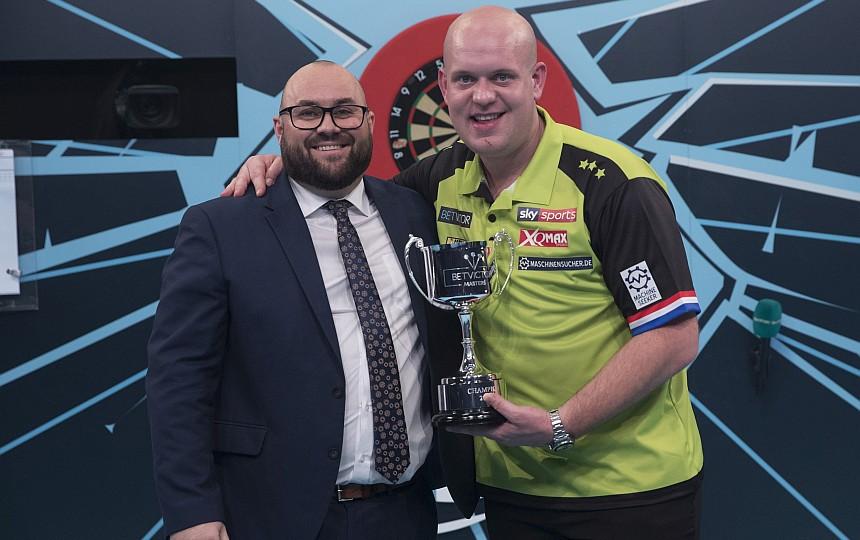 The Masters 2019 - Sieger Michael van Gerwen