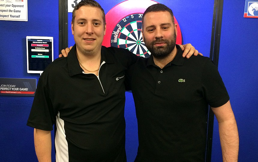 UK Q-School 2019 - Tag 4 - Kirk Shepherd & Nathan Derry