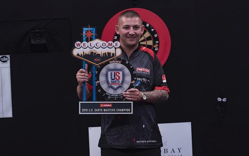 Nathan Aspinall - Sieger U.S. Darts Masters 2019