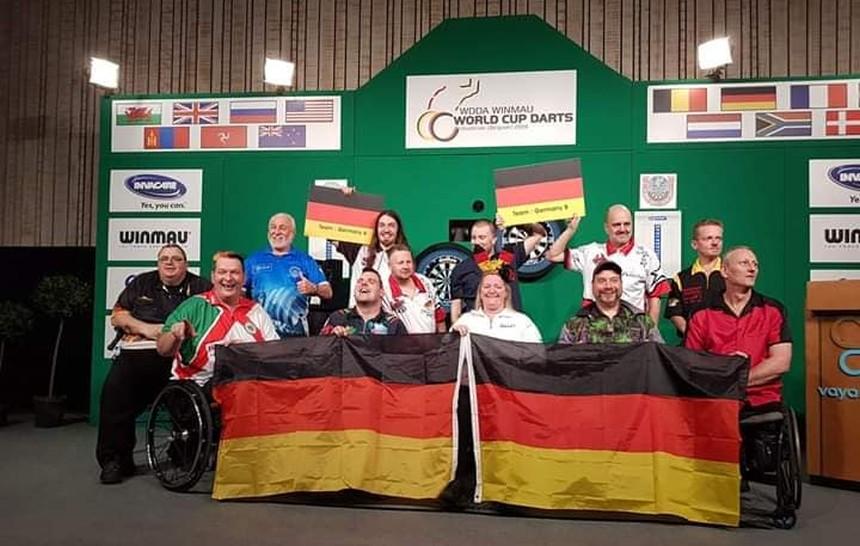 Die beiden Deutschen Teams beim 1. WDDA Worldcup im Oostende