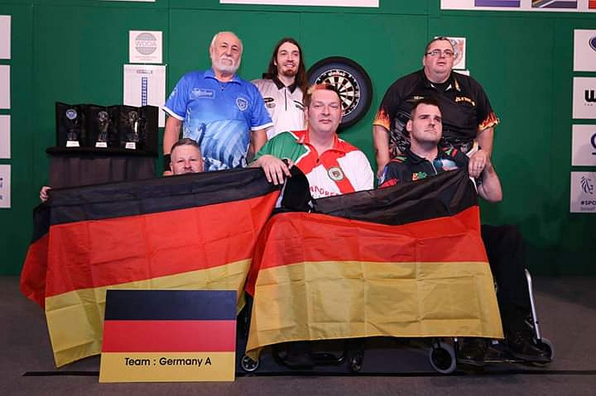 Team Germany A - 1. WDDA World Cup 2019