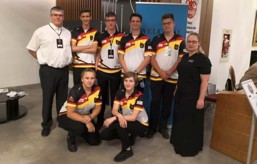 Team Germany - WDF Europe Cup Youth 2019