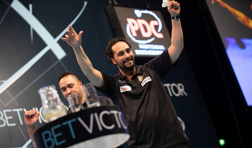 Team Neuseeland im Viertelfinale - World Cup of Darts 2019