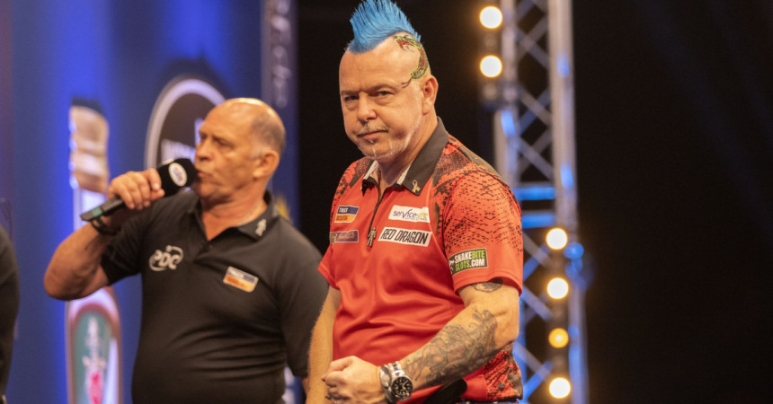 Peter Wright beim World Matchplay 2019