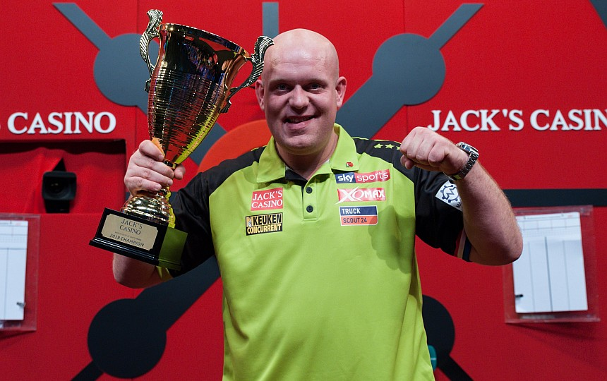World Series Finals 2019 - Siegerbild - Michael van Gerwen