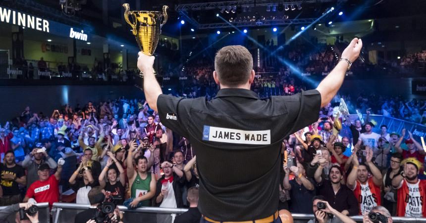 World Series of Darts Finals - Siegerehrung - James Wade