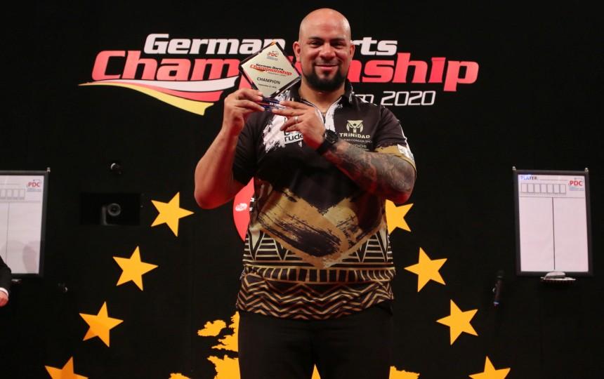 Devon Petersen gewinnt die German Darts Championship 2020
