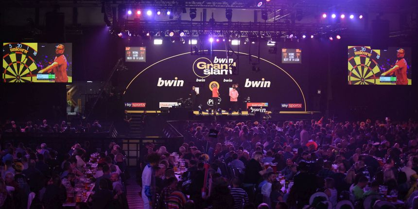Grand Slam of Darts startet am Montag