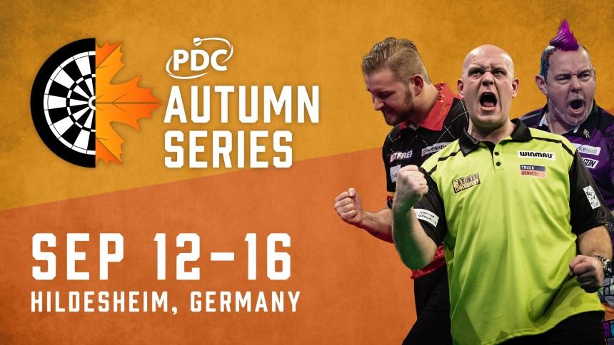 PDC kündigt Autumn Series in Deutschland an