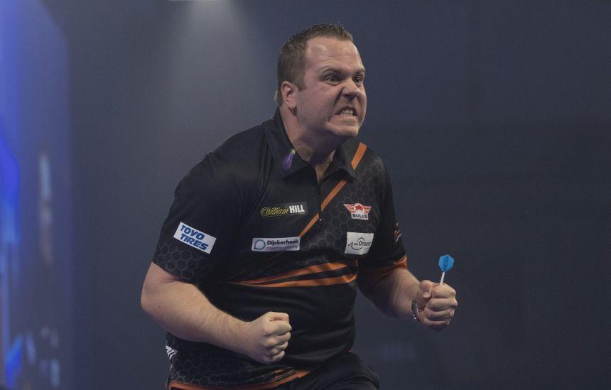 Dirk van Duijvenbode mit dem nächsten Sudden-Death-Sieg