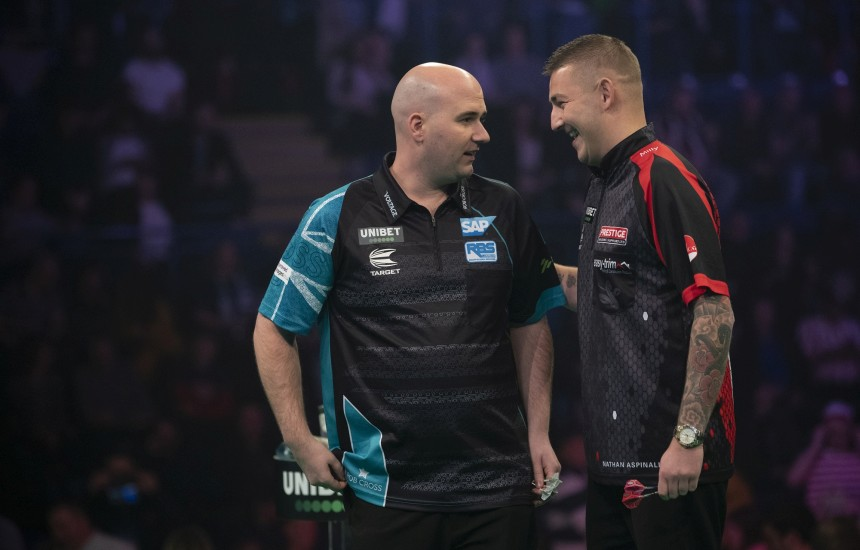 Rob Cross siegt
