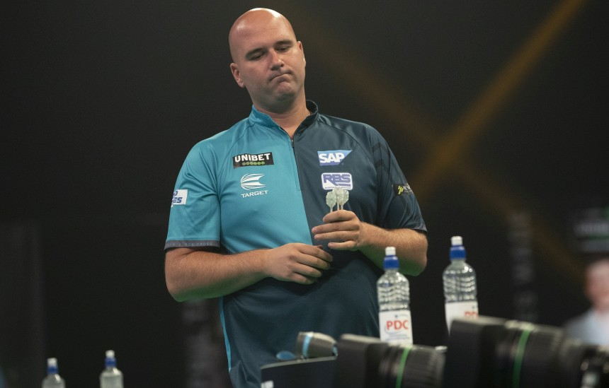 Rob Cross scheidet aus