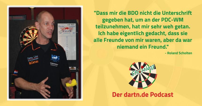 Shortleg - World Cup of Darts Vorschau - Roland Scholten