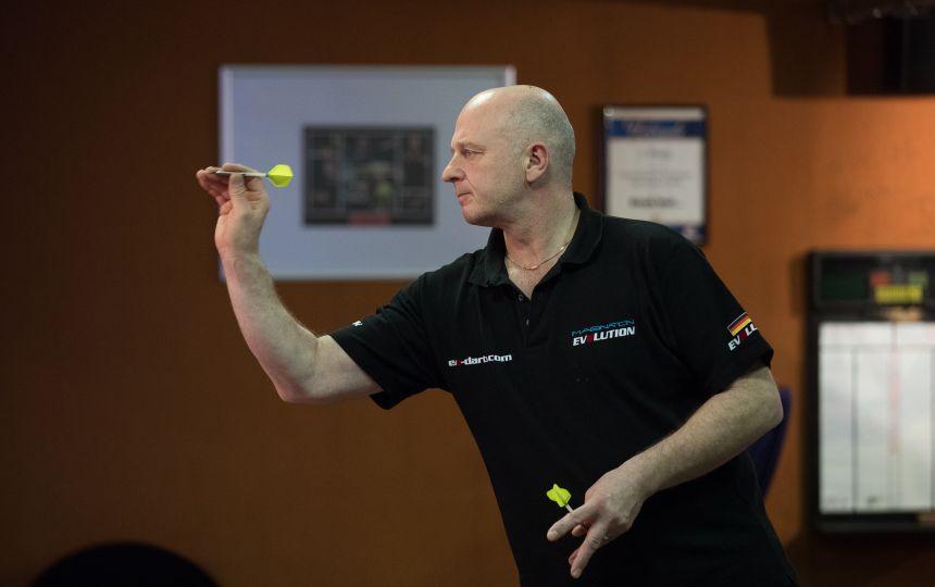 Manfred Bilderl erreichte als Letzter das Viertelfinale.