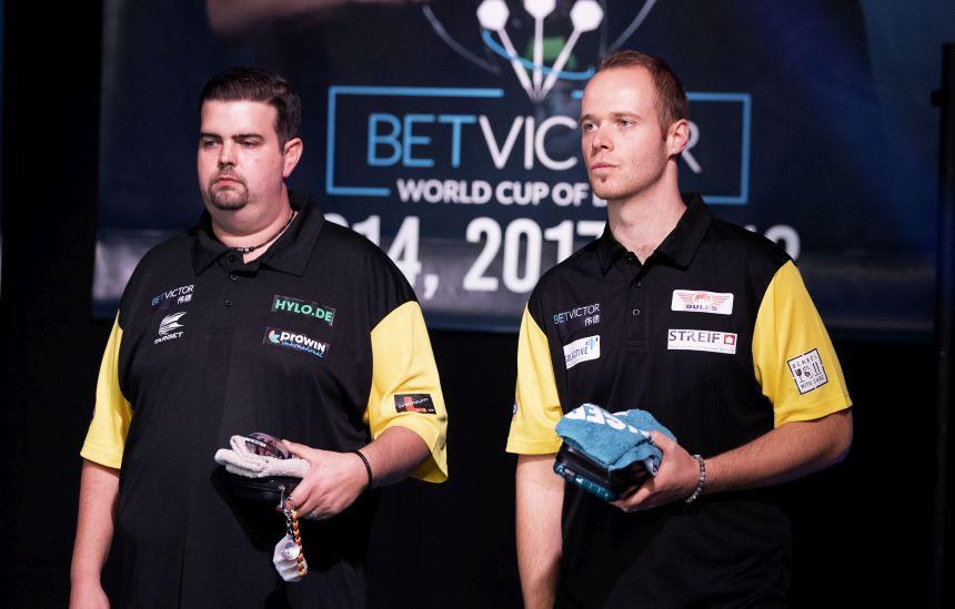 Max Hopp und Gabriel Clemens setzen sich gegen Team Griechenland durch